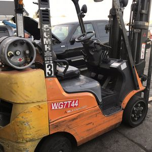 2014 Mitsubishi Forklift 5,000lbs for Sale in Fontana, CA