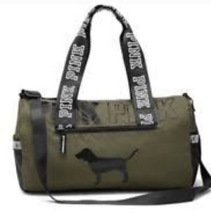 Victoria's Secret Pink Army Green Duffle Gym Bag NWT for Sale in CHAMPIONS GT, FL