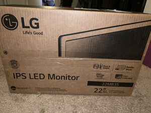 "Brand new LG Monitor 22"" for Sale in Vallejo, CA"