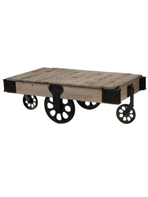 Antique Industrial Coffee Table for Sale in Boston, MA