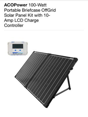 100 watt Solar Panel Kit for Sale in Lacey, WA