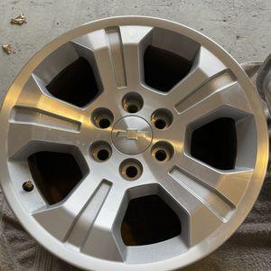 "Chevy Silverado 2014-2019 Alloy Wheels 18"" for Sale in Orland Park, IL"