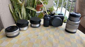 Sony NEX 6 Flash Camera + lenses for Sale in Miami, FL