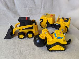 "Set of 2 CAT Caterpillar Mini Machines Bulldozer & Roller with Sound 5.5"" for Sale in Alpharetta, GA"