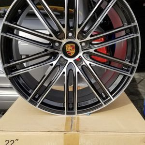 """Porsche Cayenne 22"""" New Gts Style Rims Tires Set for Sale in Hayward, CA"""