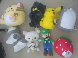 Round 1 Plushies/Stuffed Animals for Sale in San Jose, CA