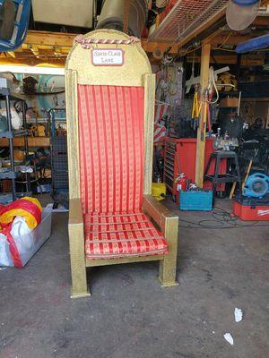 Real Santa Claus chair for Sale in Pompano Beach, FL