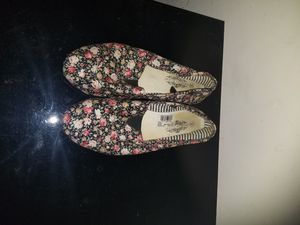 Floral canvas shoes for Sale in Fort Worth, TX