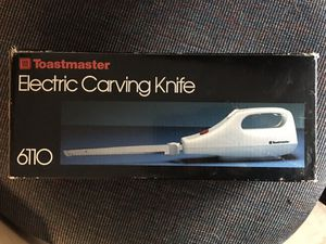 Electric Carving Knife for Sale in Spring Hill, FL