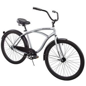 "Huffy 26"" Cranbrook Men's Beach Cruiser Comfort Bike, Silver (in box) for Sale in Miami, FL"