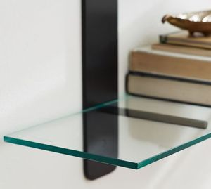 6 separate Floating Glass shelves, (6) good for decoration in any room for Sale in Fort Lauderdale, FL