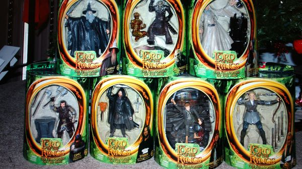 Lord of the Rings - Fellowship of the Ring Action figure collectibles
