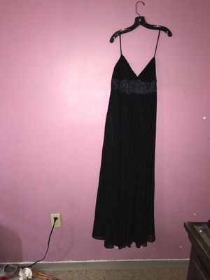Metaphor flowing black beaded dress size 10 for Sale in Lynn, MA