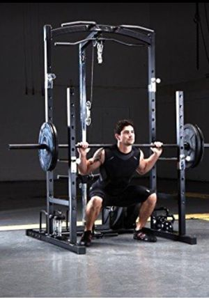 Marcy Smith Cage Workout MachinBody Training Home Gym System with Linear Bearing (no weight come with it )it's wholsale firm price no offer 🔥 for Sale in Torrance, CA