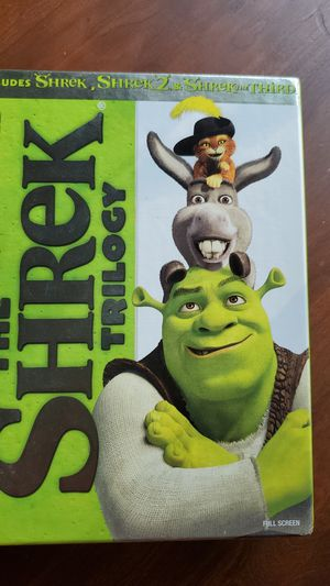 SHREK TRILOGY for Sale in Suffolk, VA