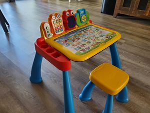 VTech Touch and Learn Activity Desk Deluxe w/ Expansion Packs for Sale in San Diego, CA
