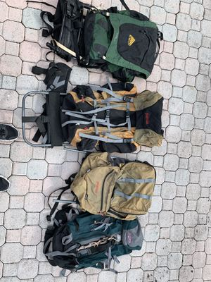 Backpacks - various for Sale in LAUD BY SEA, FL