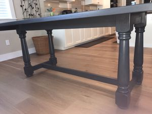 Navy blue dining table for Sale in Gig Harbor, WA