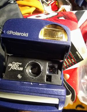 Polaroid instant camera one-step autofocus special edition take 600 film for Sale in Chicago, IL