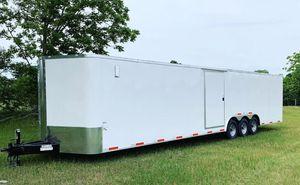 38 Feet ,2019, Two Car Enclosed trailer for Sale in Pompano Beach, FL