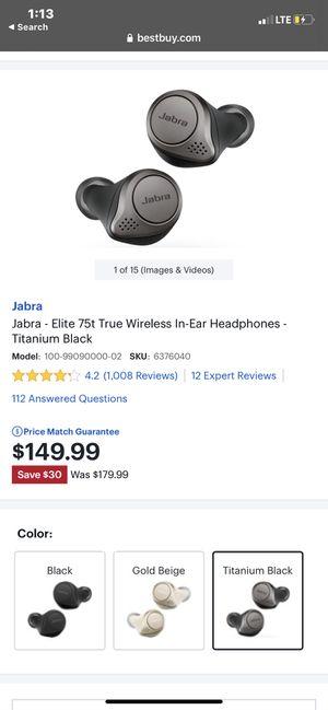 Jabra Headphones for Sale in San Antonio, TX