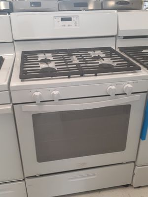 Whirlpool gas stove in good condition with 90 days warranty for Sale in Mount Rainier, MD