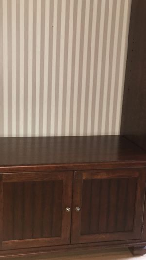 TV Console with cabinets And pullout shelf for Sale in Sugar Land, TX