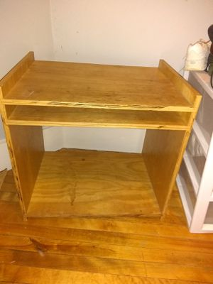Tv stand small desk etc for Sale in Worcester, MA