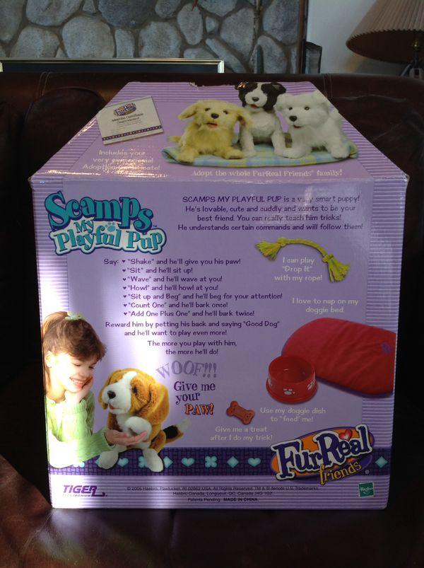 Scamps Furreal Friends Robotic Dog