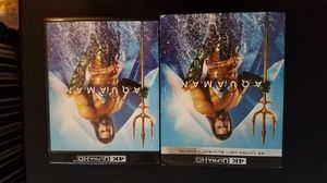 4K Aquaman 4k UHD and Blu-ray discs for Sale in Lewisville, TX