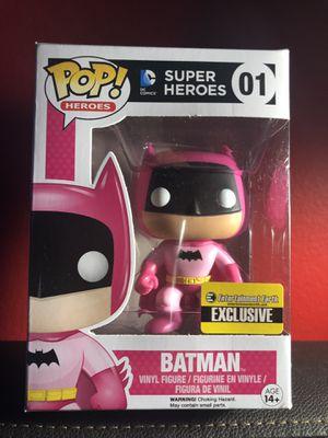 Toy - POP - Vinyl Figure - Batman - 75th Anniversary - Pink - EE Exclusive (DC Comics) for Sale in Los Angeles, CA