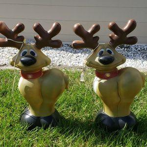 """(2) 27"""" light up reindeer for Sale in Maitland, FL"""