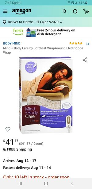 NEW Electric Blanket for Sale in San Diego, CA