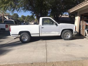 Chevy or jeep wheels and tires. 5 lug for Sale in Las Vegas, NV