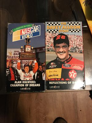 NASCAR vhs for Sale in Mint Hill, NC