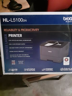 Brand New HL-L5100DN Brother Laser Printer for Sale in Dallas, TX