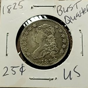 1825 Us Bust Quater Dollar for Sale in Sebring, FL