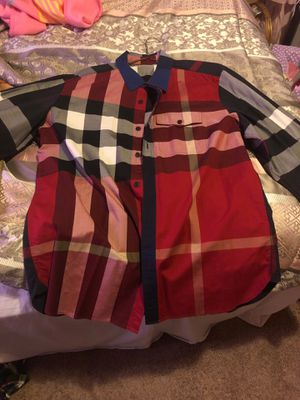Real Burberry this shirt is not cheap for Sale in Pittsburgh, PA