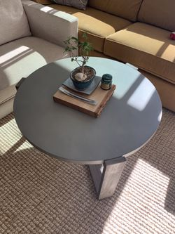 West Elm Round Coffee Table for Sale in Houston,  TX