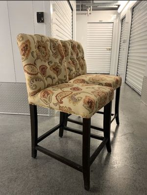 Set of Two Bar Stools for Sale in Raleigh, NC