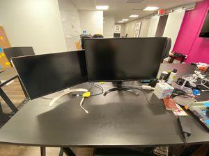"LG 20"" 4k monitors (Left side) for Sale in Cambridge, MA"