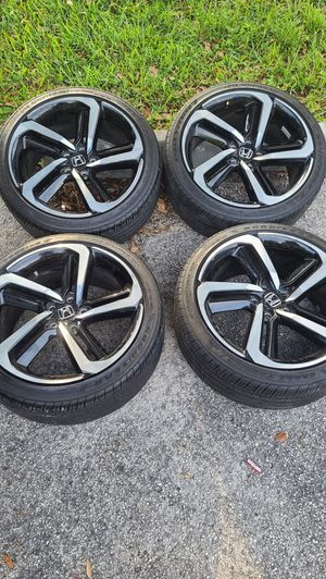 "Rims 19"" and Goodyear tires Honda Accord 2018 Sport for Sale in Hollywood, FL"