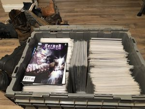 300 comics for $50 *box not included* for Sale in Bakersfield, CA