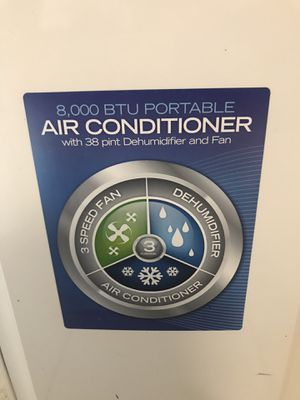 8000 air conditioner and Dehumidifier for Sale in Brooklyn, NY