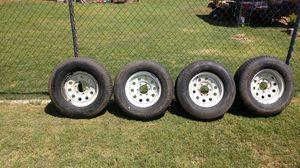 Six lug trailer tires for Sale in Mesa, AZ