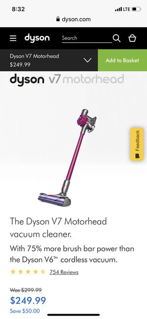 Dyson v7 new sealed for Sale in San Antonio, TX