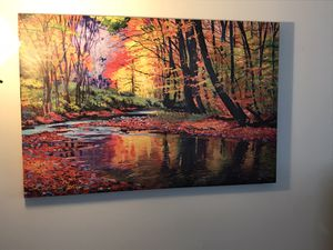 Beautiful painting 35x23. Excellent condition. Home decor for Sale in Salem, MA