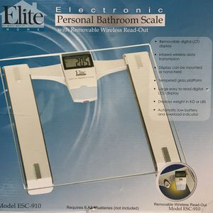 Elite Home By Maxi-Matic Electronic Personal Bathroom Scale for Sale in Westport, MA