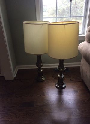 antique brass lamps Stiffel for Sale in Boyds, MD