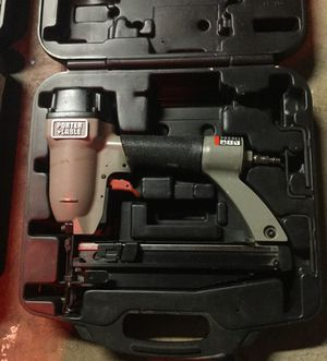Porter cable 16gauge nailgun AND WITH FREE $20 case for Sale in Los Angeles, CA